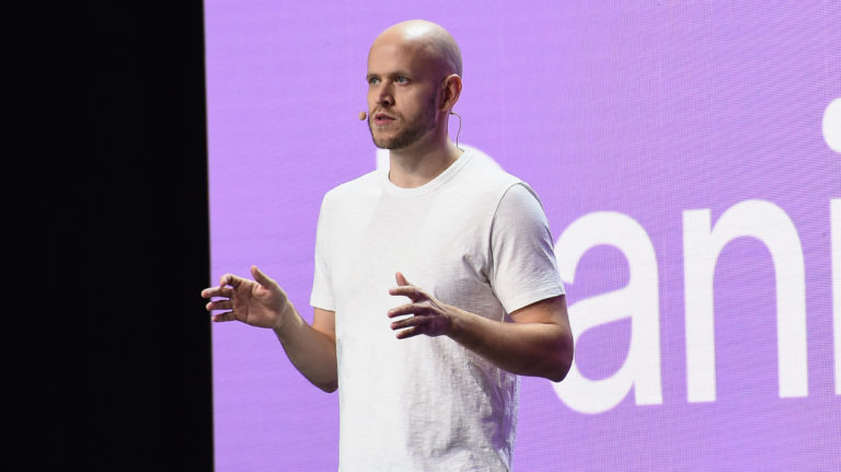 Spotify CEO Daniel Ek on Spotify's bet on podcasts and original, exclusive content