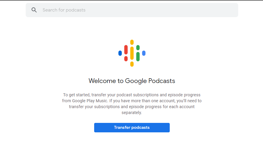 How to transfer your podcasts from Google Play Music to Google Podcasts