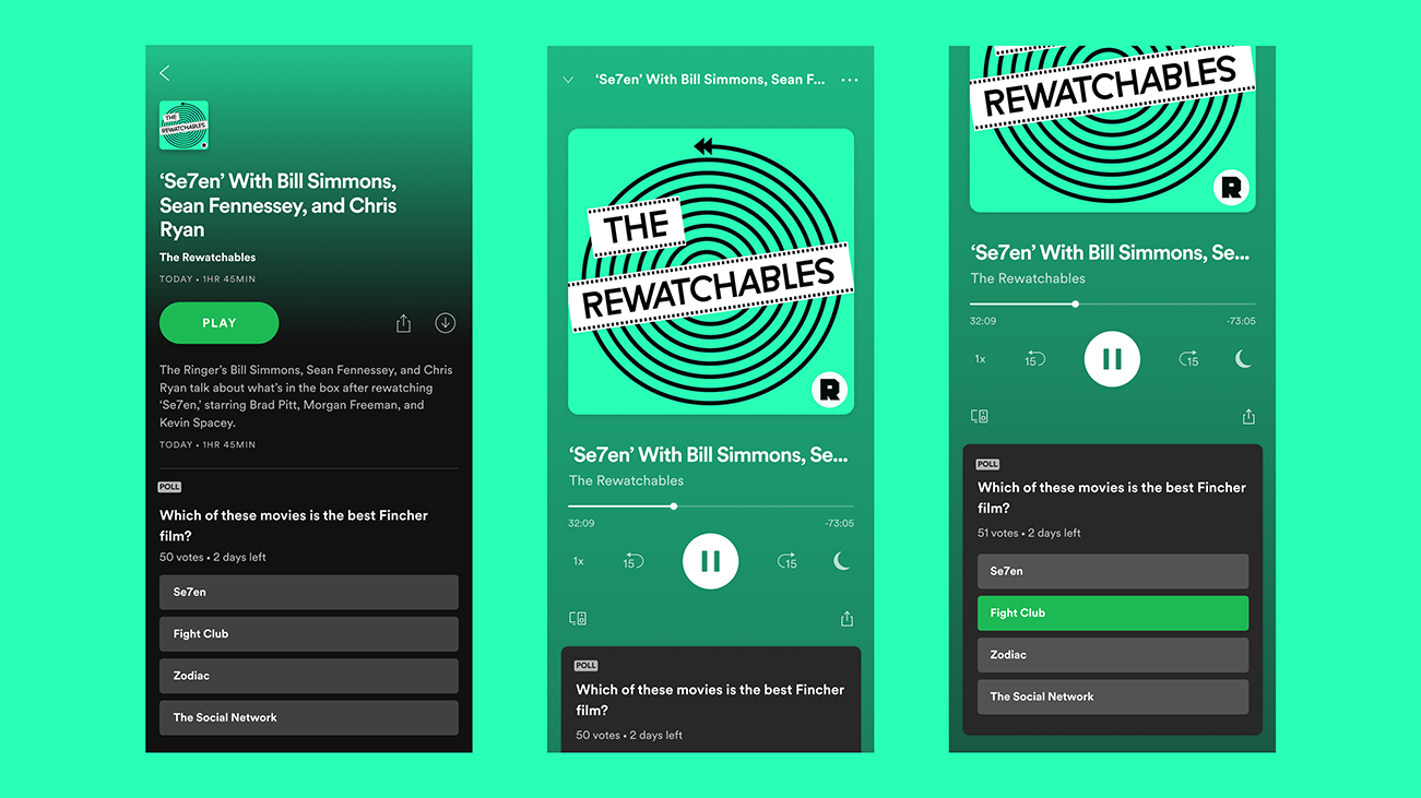 Spotify adds a new Polls feature allowing podcasters to engage with their audience